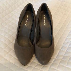 Brown Dollhouse heels